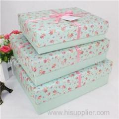 Korea Gift Packaging Paper Box