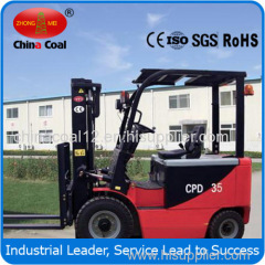 CPD electric forklift Battery power
