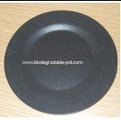 round Biodegradable dinner plate