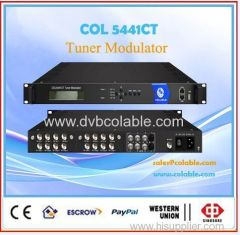 dvb-s2 to qam modulator