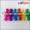 New whiteboard paper magnetic push pin with color solid&transparent/magnet button