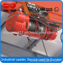 CD1 Type Wire Rope Electric Hoist