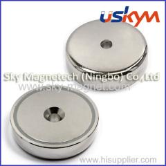 permanent pot magnets/magnetic pot/holding magnet