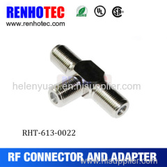 2016 Hot Dosin T Type Three female F connector adapter