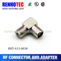 Hot Dosin Right angle F connector to PAL adapter for cable