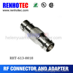 Double BNC female adapter bnc jack to bnc jack connector