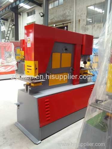 hydraulic ironworker shear notch punch