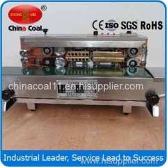 SF-150W Packaging Machinery Horizontal Continuous Band Sealers with Printing