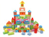 Wooden Building Blocks With colorful design