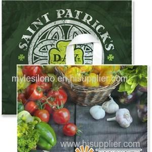 Custom Full Color 16 X 14 Soft Loop Handle Bags