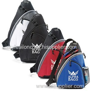 Personalized Wave Monopack Sling Bags
