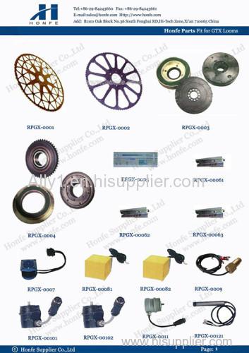 Drive wheel rapier loom part