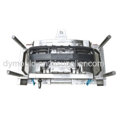 The bumper mould injection molding processing