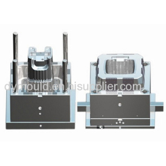 Custom dustbin plastic injection mold