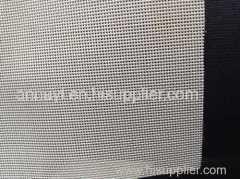 white color PVC coated mesh fabric textile fabric