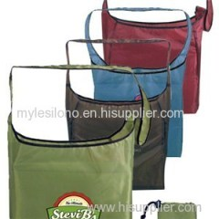 Custom Full Color RPET Fold-Away Sling Bags