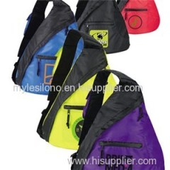 The Custom Downtown Sling Backpacks