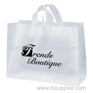 16 W X 12 H Daisy Frosted Shopping Bags