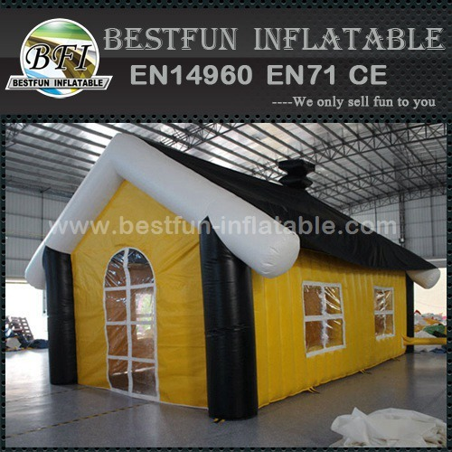 Mobile portable inflatable bar tent pub