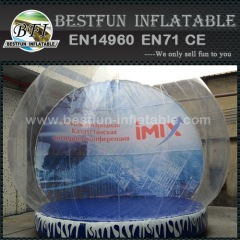Giant christmas decoration inflatable snow globe