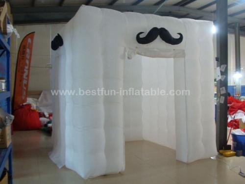 Led lighting inflatable photo studio inflatable lighting photobooth