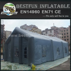 Inflatable camping tent for wedding
