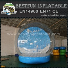 Snow globe inflatable decorations