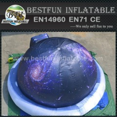 Inflatable planetarium tent for school learn