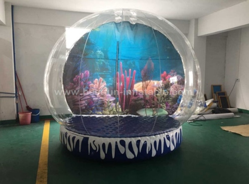 Wedding snow globe inflatable snow globe christmas inflatable ball