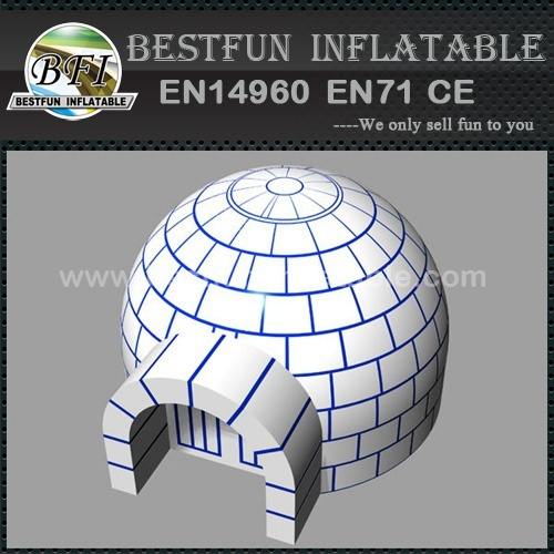 HI affordable inflatable snow globe tent