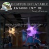 Inflatable star shape led lighting party decorations