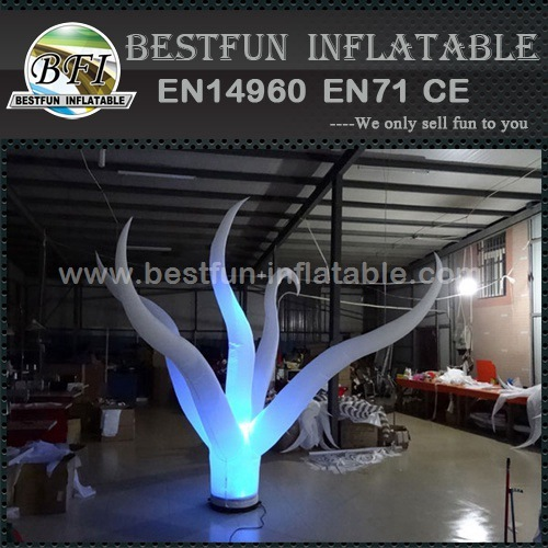 Popular party decoration inflatable artificial flower