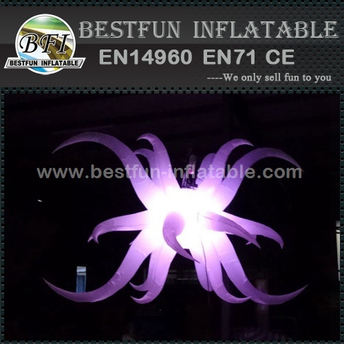 Decor Inflatable Bright Star LED Lighting