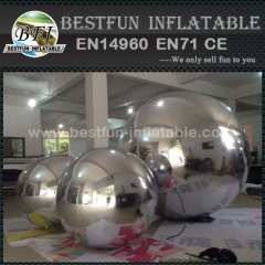 Customized floating inflatable mirror balls