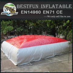 Inflatable free fall drop air bag for outdoor sports