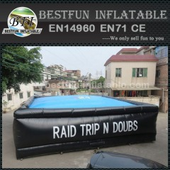 Inflatable big air bag for outdoor extreme sports