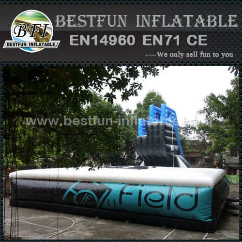 Freefall Double Jump Inflatable Platform With Air Bag