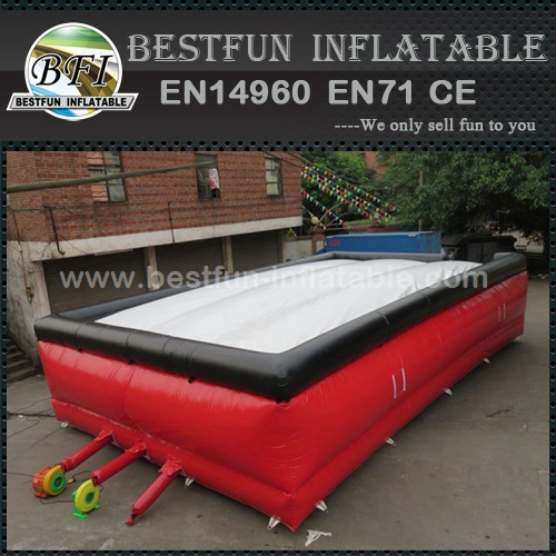 Factory outlet jumping trampoline inflatable stunt air bag