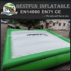 Jumping sport big air bag free fall air bag