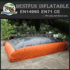 Inflatable big air bag for outdoor sports