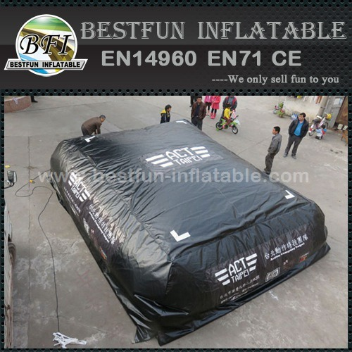 Inflatable stunt jump air bag for taiwan Action