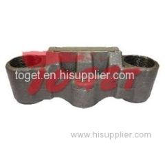 caliper bridage without fixture and roller