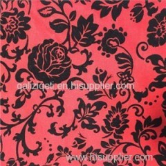 Flocking Roma Fabric Product Product Product