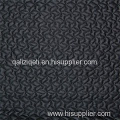 Foiling Double Jacquard Knit Fabric