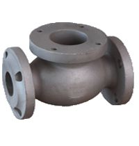Steel casting machine part