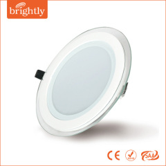 9W LED Slim round panel light