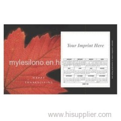 Wholesale Red Leaf 8.5inch X 5.25inch Magnets
