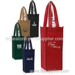 Vineyard One Bottle Personalized Wine Bags