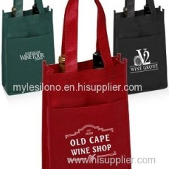 Vineyard Two Bottle Custom Wine Bags
