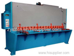 guillotine shearing machine hydraulic guillotine shearing machine CNC hydraulic guillotine shearing machine